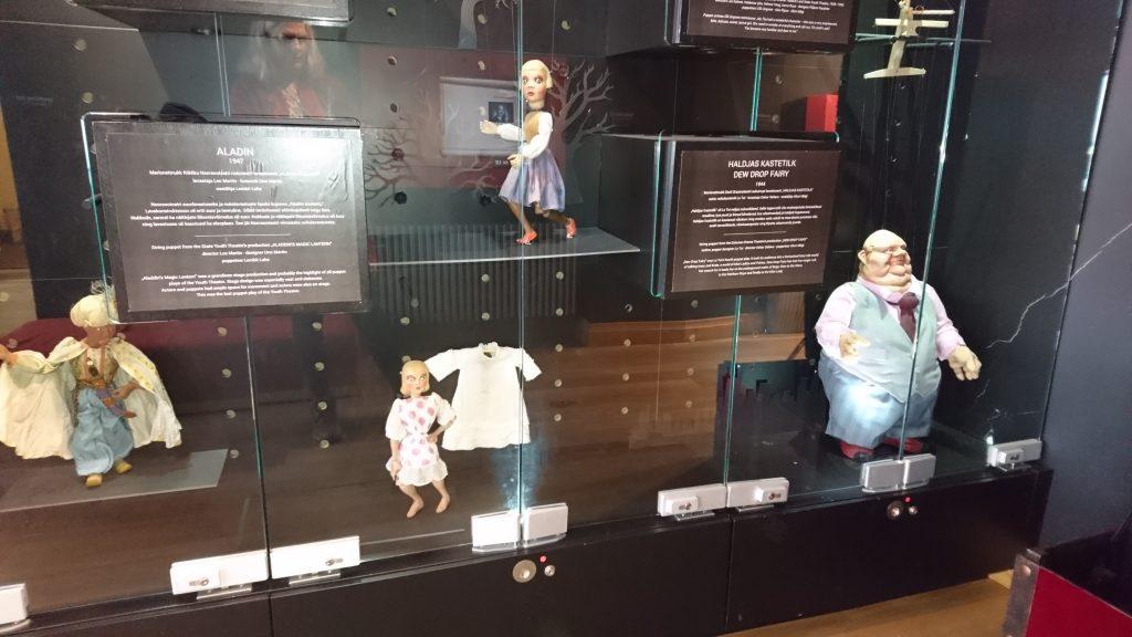 En monter på Puppetry museum